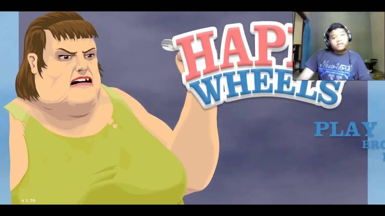 Happy Wheels  Pegangan Sama Papa Nak Irfan Jeepong
