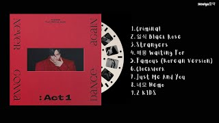 [FULL ALBUM] TAEMIN (태민) - Never Gonna Dance Again: Act 1 (The 3rd Album)