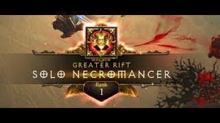 �������� ���� [S12 HC] Rank 1 EU Necromancer - Tier 114 Solo (12:14) ������