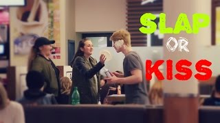 HAPPINESS TEST  |TEST ŠTĚSTÍ |  SLAP OR KISS