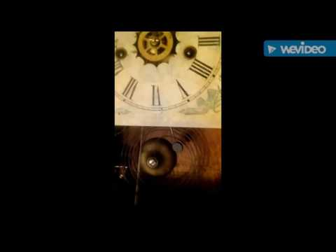Antique Waterbury Ogee Clock Strike & Timer Bell Spring Movement c. 1880