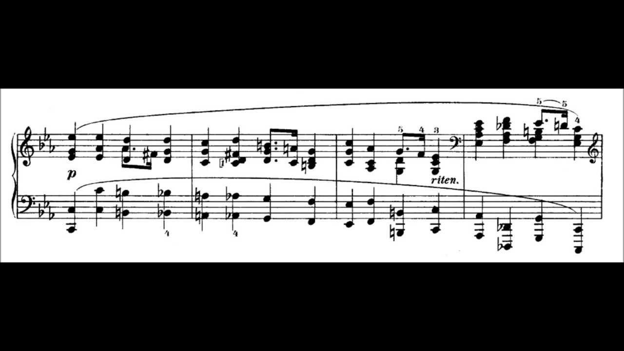 Chopin: Prelude Op.28 No.20 in C Minor (Pogorelich)