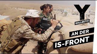 Mit kurdischen Kämpfern an der IS-Front im Irak