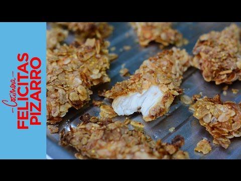 Nuggets de Pollo Caseros   Felicitas Pizarro