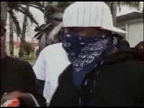 Crips & Bloods from compton talking about The Game