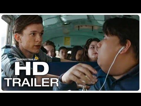 AVENGERS INFINITY WAR Movie Clip Peter Parker School Bus Escape + Trailer (2018) Superhero Movie HD