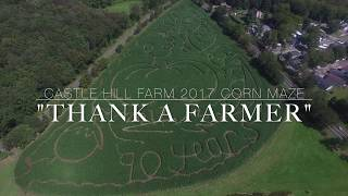 Castle Hill Farm 2017 Corn Maze