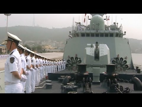 Chinese Navy Commissions New Domestically developed Frigate