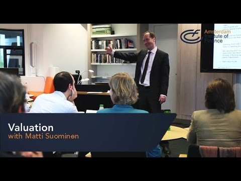 Valuation program | Amsterdam Insitute of Finance