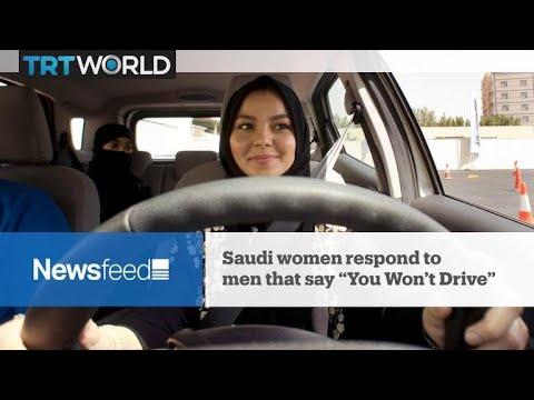 "Newsfeed: Saudi women respond to ""You Won't Drive"""