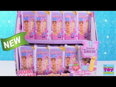 Num Noms Snackables Dippers Series 1 Scented Slime Figures | PSToyReviews