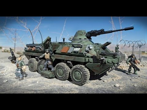 Review Combat Vehicle Attack (BTR-80)