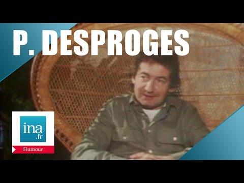 """Pierre Desproges dans """"30 millions d'amis"""" - Archive INA"""