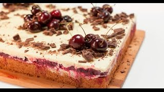 Пирог «Чёрный лес»  | Теле-теле-тесто