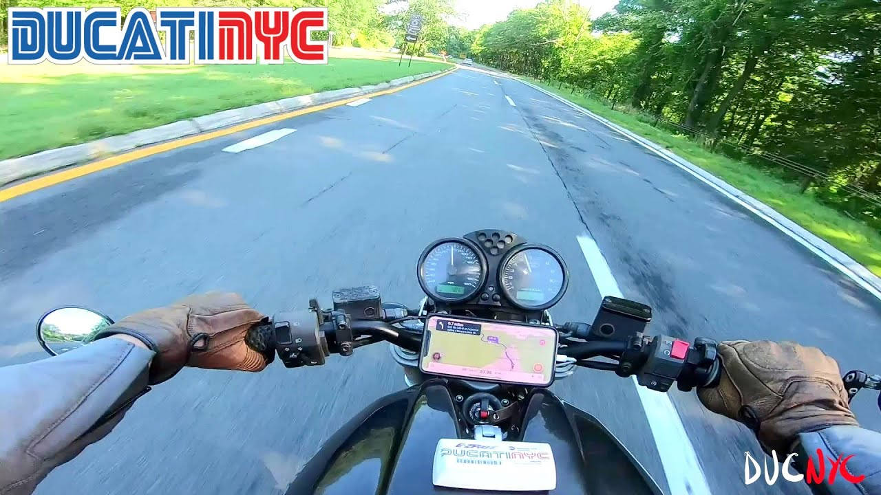 cops, computers and cars - Brooklyn, Queens, Bronx, New Jersey - north of NYC - Ducati  v1290