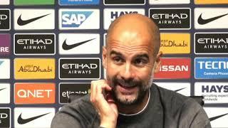 Manchester City 5-0 Burnley | Pep Guardiola Post Match Press Conference | Premier League