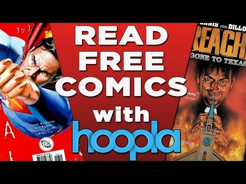 Read Free Comics With Hoopla Digital!