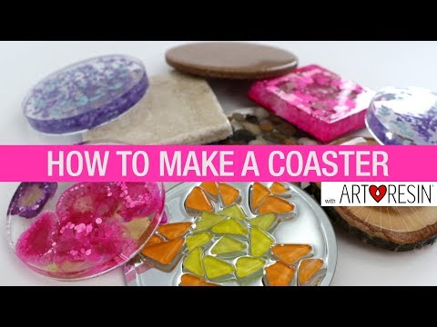 How To Make An Epoxy Resin Coaster