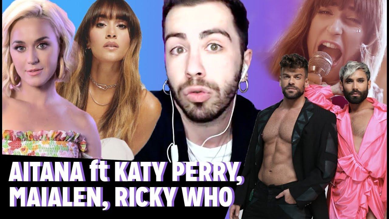 REACCIÓN Aitana ft Katy Perry + Maialen + Ricky Merino | MALBERT DIRECTOS