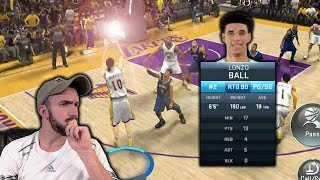 PLAYING IN LONZO BALL'S SHADOW?! NBA 2K18 Mobile Gameplay (iOS/Android)