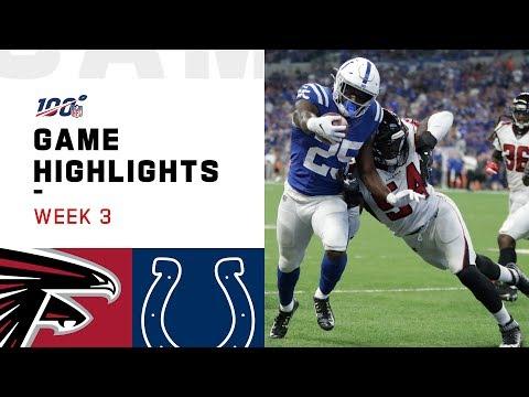 Falcons vs. Colts Week 3 Highlights | NFL 2019