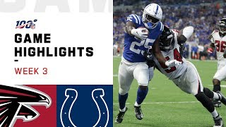 Falcons vs. Colts Week 3 Highlights | NFL 2019