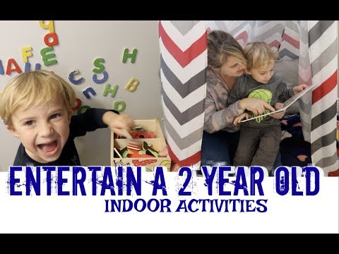 HOW TO ENTERTAIN A 2 YEAR OLD | Indoor Activities