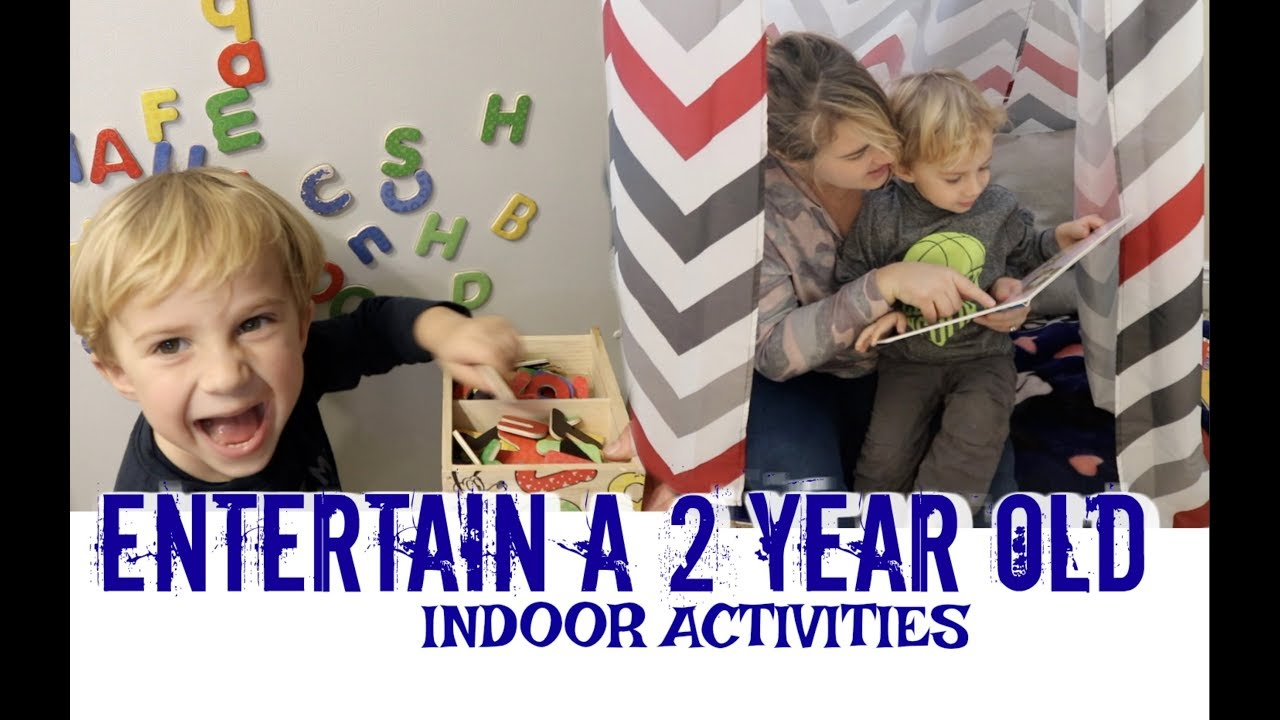 How To Entertain A Toddler Indoor Activities Youtube