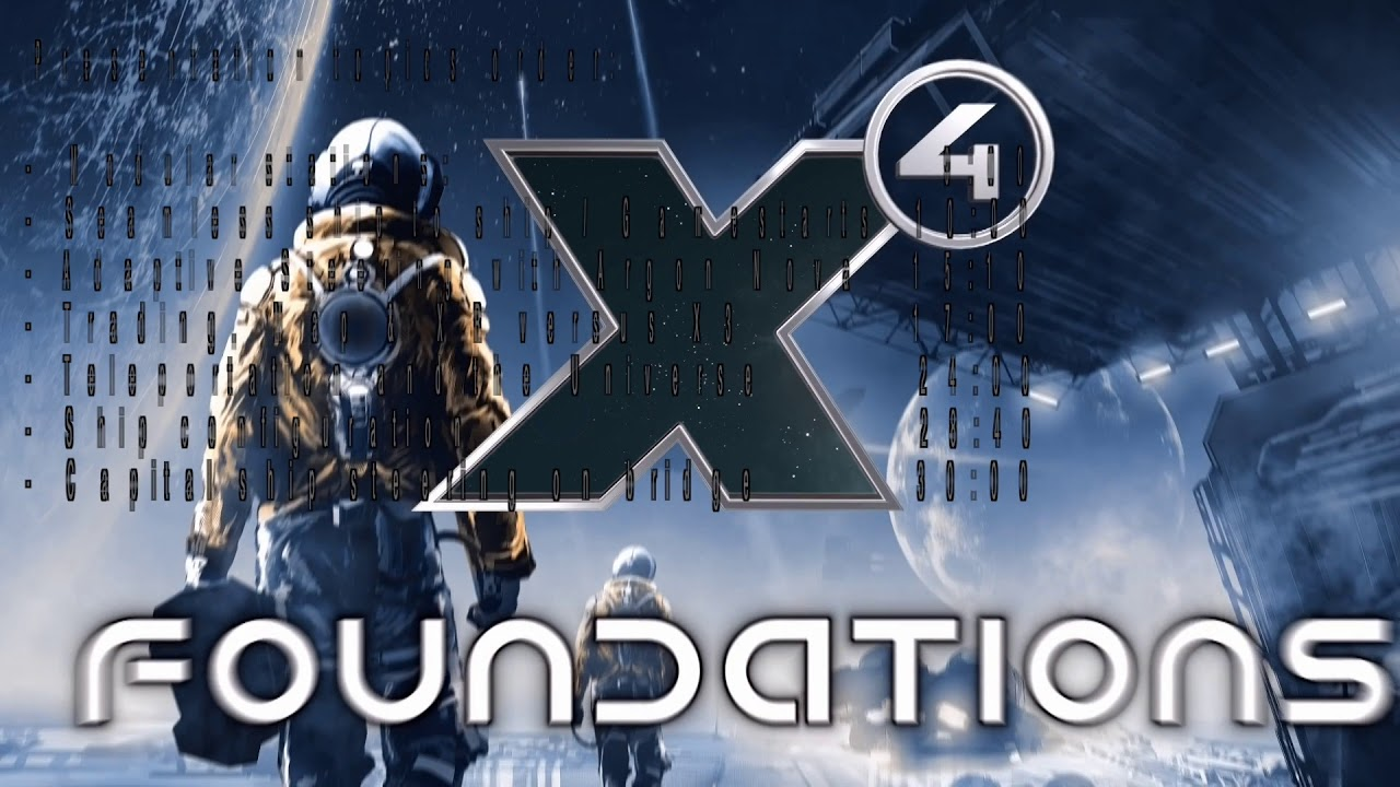 X4: Foundations announced | Rock Paper Shotgun