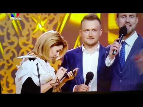 LNK Jagelavičiūtė girta Žmonės apdovanojimuose 2017