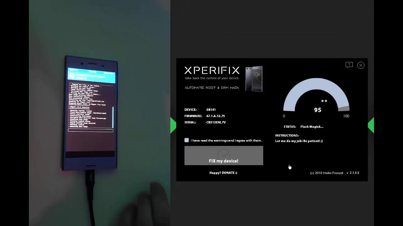 XperiFIX 2 0 - The Sony Xperia
