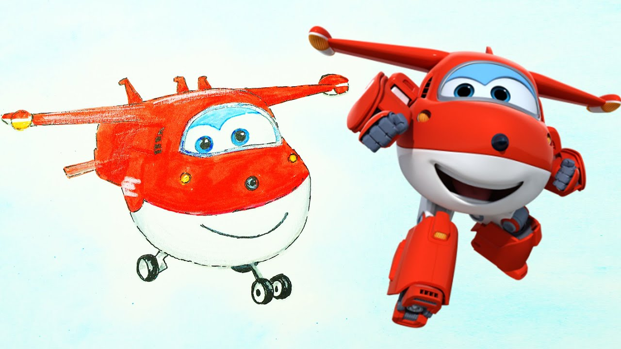 super wings hogi jett picture drawing painting coloring boyaboya