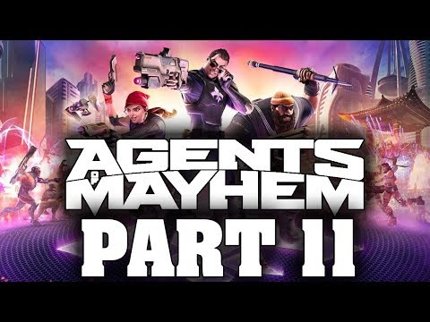 """Agents Of Mayhem - Let's Play - Part 11 - """"Royal Pain, Crowning Achievement"""""""