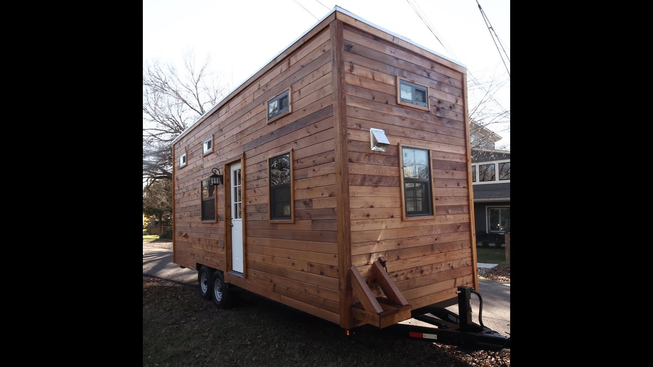 Nomadic Cabin Tiny House Tour