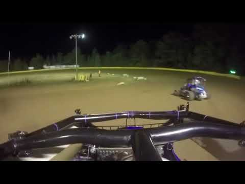 Hamlin Speedway - Rookie 600's Feature 8-4-18