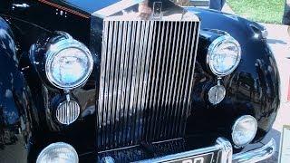 1950 Rolls Royce Silver Dawn Drophead Blk LakeMirror102113