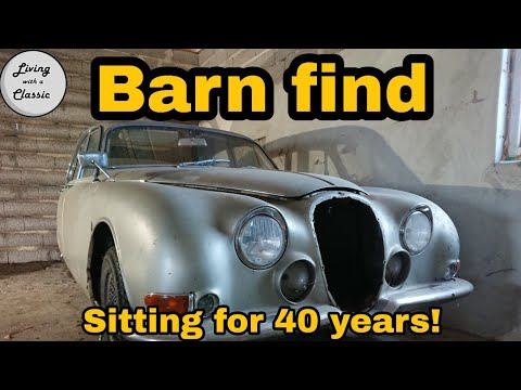 Classic Car Barn Find - Introducing my 1966 S-Type Project Car (Part 1)