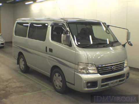 2005 Nissan Caravan Gx Vwe25 Youtube