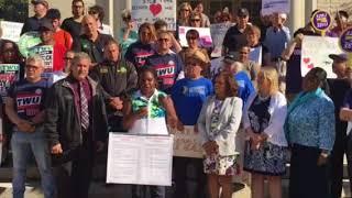 Rally for Employee Paid Sick Time - Jasmine Dillard