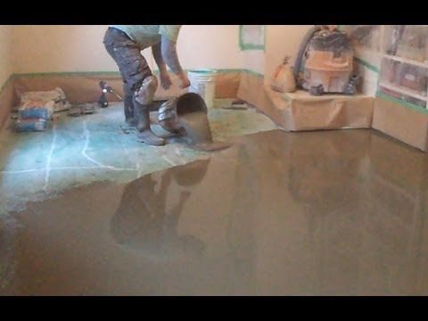 Concrete Subfloor Preparation for the Vinyl Floor