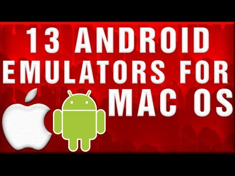13 Android Emulators For MAC OS