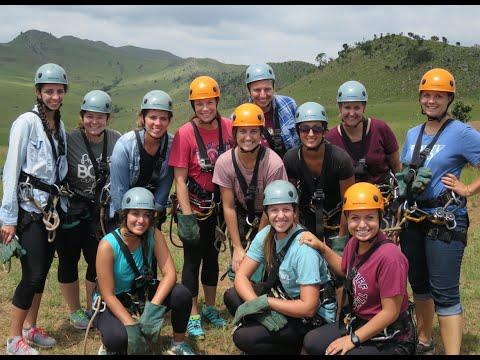 Zip Lining in Swaziland Africa
