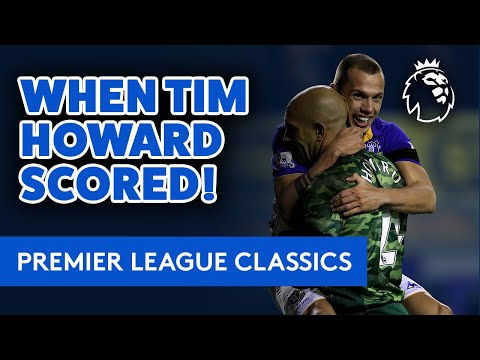 Download TIM HOWARD SCORES FROM 100 YARDS!   PL CLASSIC: GOALKEEPER'S FREAK GOAL FROM HIS OWN AREA