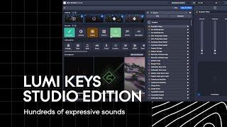 LUMI Keys Studio Edition: Hundreds of sounds in ROLI Studio