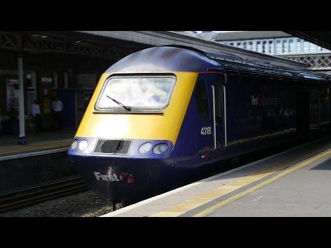 British Rail Class 43 passing through Slough