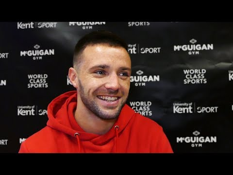 Josh Taylor LAUGHS OFF Prograis claims: He DIDN'T WANA COME HERE!