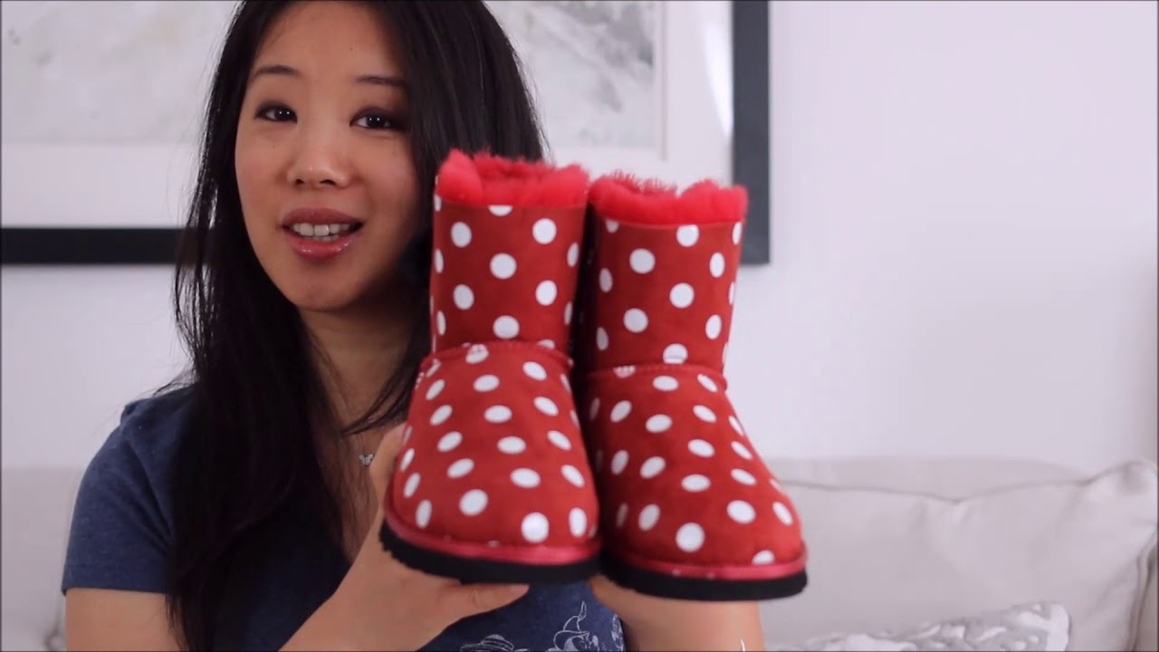 7c37123aa24 REVIEW: Disney UGG Collaboration - Tinkerbell and Minnie Mouse