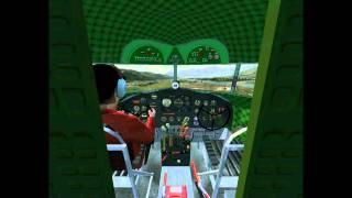 flightgear dc 3 atterrissage à grenoble le versoud lflgm2t