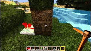 Активаторы: Мотыга в качестве ключа [Уроки по Minecraft]