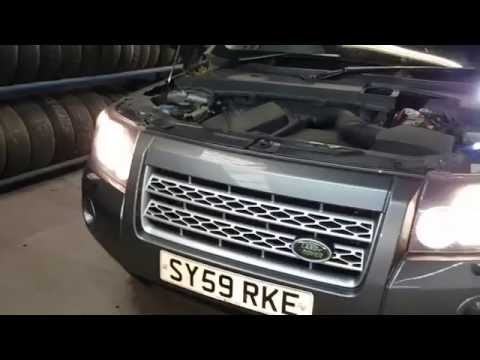 How to replace headlight bulb – Land Rover